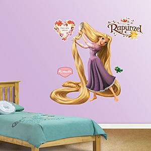 Tangled Rapunzel Wall Graphic Set by Fathead -- 5-Pc.