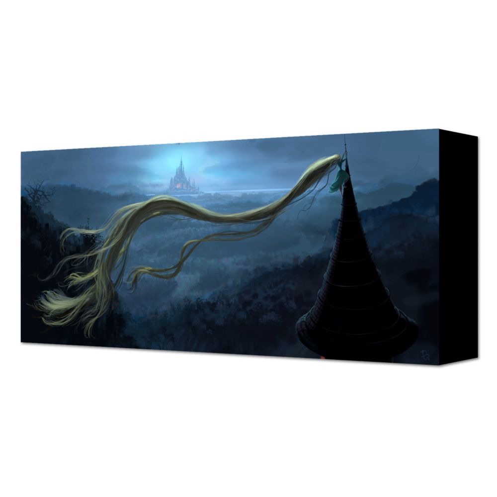 ''Faraway Land'' Tangled Rapunzel Gallery Wrapped Canvas