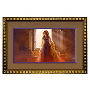 ''Rapunzel'' Framed Limited-Edition Tangled Rapunzel Gicleé