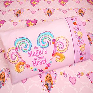 ''Magic in Your Heart'' Tangled Rapunzel Sheet Set -- Twin