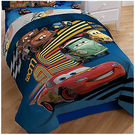 about new disney cars 2 comforter sheet set 5 pc full double size