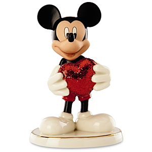 Love Struck Mickey Mickey Mouse Figurine by Lenox