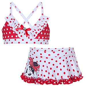 Minnie Mouse Swimsuit for Girls -- 2-Pc.