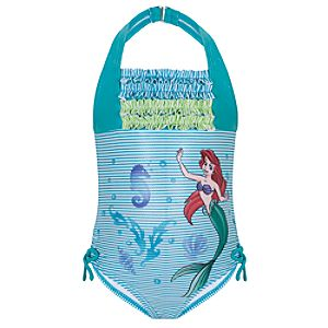 Ruffled Ariel Swimsuit for Girls
