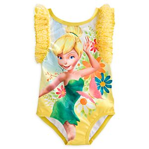 Tinker Bell Swimsuit for Girls
