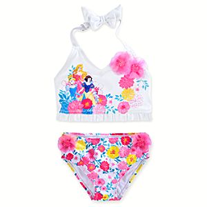 Disney Princess Swimsuit for Girls - 2-Piece