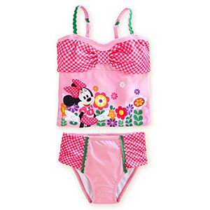 Minnie Mouse Tankini Swimsuit for Girls - 2-Piece