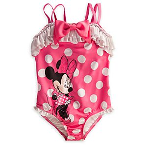 Minnie Mouse Swimsuit for Girls