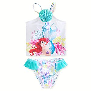 Ariel Tankini Swimsuit for Girls - 2-Piece