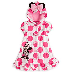 Minnie Mouse Cover-Up with Ears for Girls – Personalizable