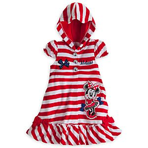 Minnie Mouse Cover-Up for Girls – Personalizable