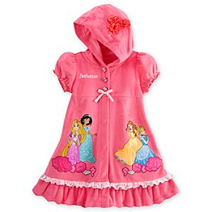 Disney Princess Swim Cover Up for Girls - Personalizable