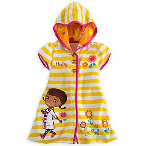 Doc McStuffins Swim Cover Up for Girls - Personalizable