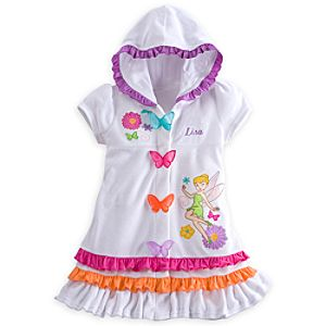 Tinker Bell Swim Cover Up for Girls - Personalizable