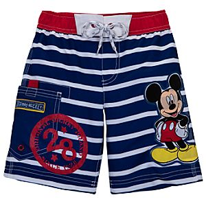 Mickey Mouse Swim Trunks for Toddler Boys