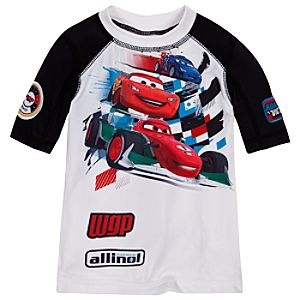 Cars 2 Rashguard for Boys