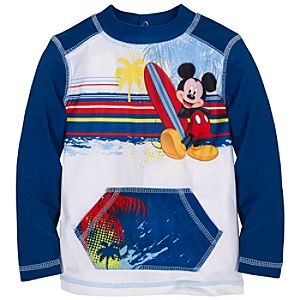 Mickey Mouse Rashguard for Toddler Boys