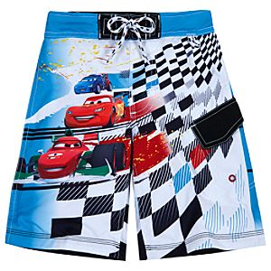 Cars 2 Swim Trunks for Boys