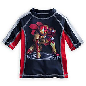 Iron Man Rash Guard for Boys