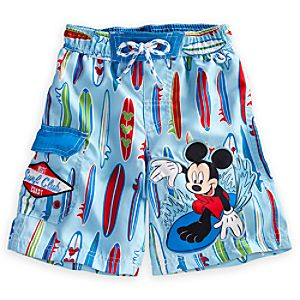Mickey Mouse Swim Trunks for Boys