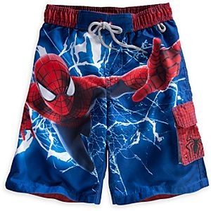 The Amazing Spider-Man Swim Trunks for Boys