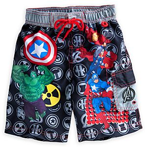 The Avengers Swim Trunks for Boys
