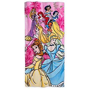 Personalizable Disney Princess Beach Towel