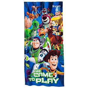 Personalizable Toy Story 3 Beach Towel