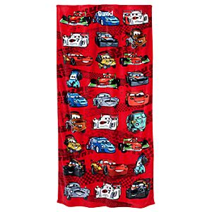 Personalizable Cars 2 Beach Towel