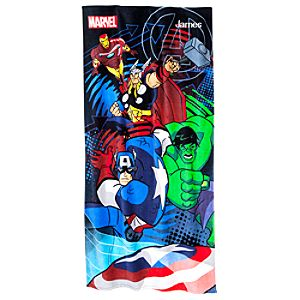 Personalizable The Avengers Beach Towel
