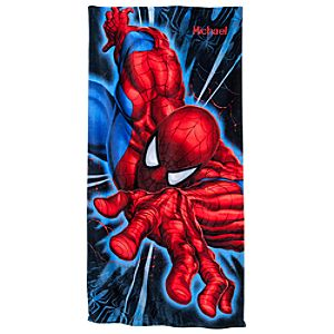 Personalizable Spider-Man Beach Towel