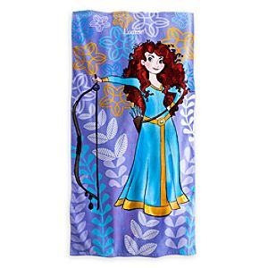Merida Beach Towel - Brave - Personalizable