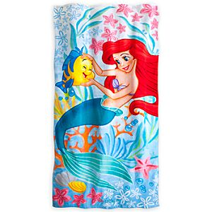 Ariel Beach Towel - Personalizable