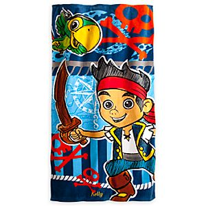 Jake and the Never Land Pirates Beach Towel - Personalized