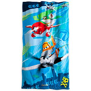 Planes Beach Towel - Personalized