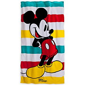 Mickey Mouse Beach Towel - Personalizable