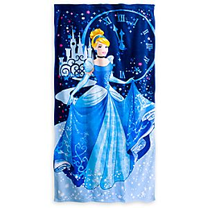 Cinderella Beach Towel - Personalizable
