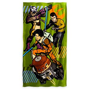 Star Wars Rebels Beach Towel - Personalizable
