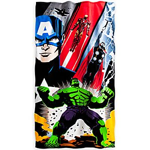 The Avengers Beach Towel - Personalizable