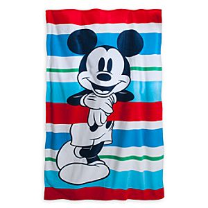 Mickey Mouse Beach Towel - Large - Summer Fun