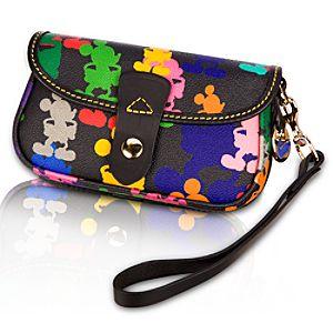 Mickey Mouse Wristlet Bag by Dooney & Bourke