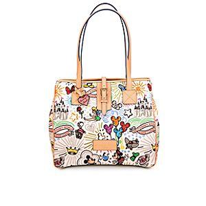 Disney Sketch Tote Bag by Dooney & Bourke -- Large