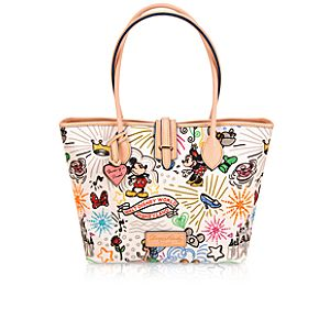 Disney Sketch Tote Bag by Dooney & Bourke -- Medium