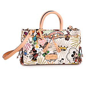 Disney Sketch Tassel Tote Bag by Dooney & Bourke