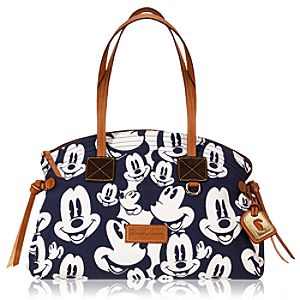 Faces of Mickey Mouse Satchel Bag by Dooney & Bourke