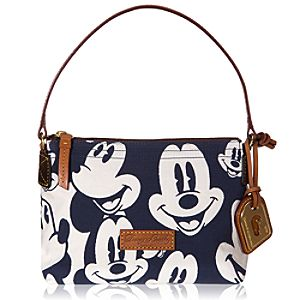 Faces of Mickey Mouse Pouchette Bag by Dooney & Bourke