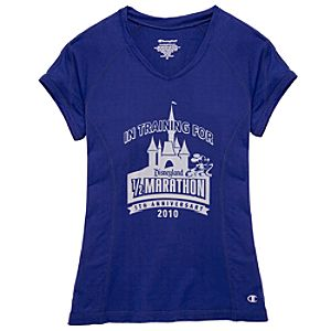 2010 Disneyland Resort Half Marathon Performance Tee by Champion® for Women