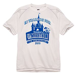 2010 Disneyland Resort Half Marathon Performance Tee by Champion® for Men