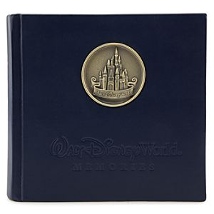 Walt Disney World Resort Castle Medallion Photo Album