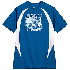 2011 Walt Disney World Resort Marathon Performance Tee by Champion® for Men